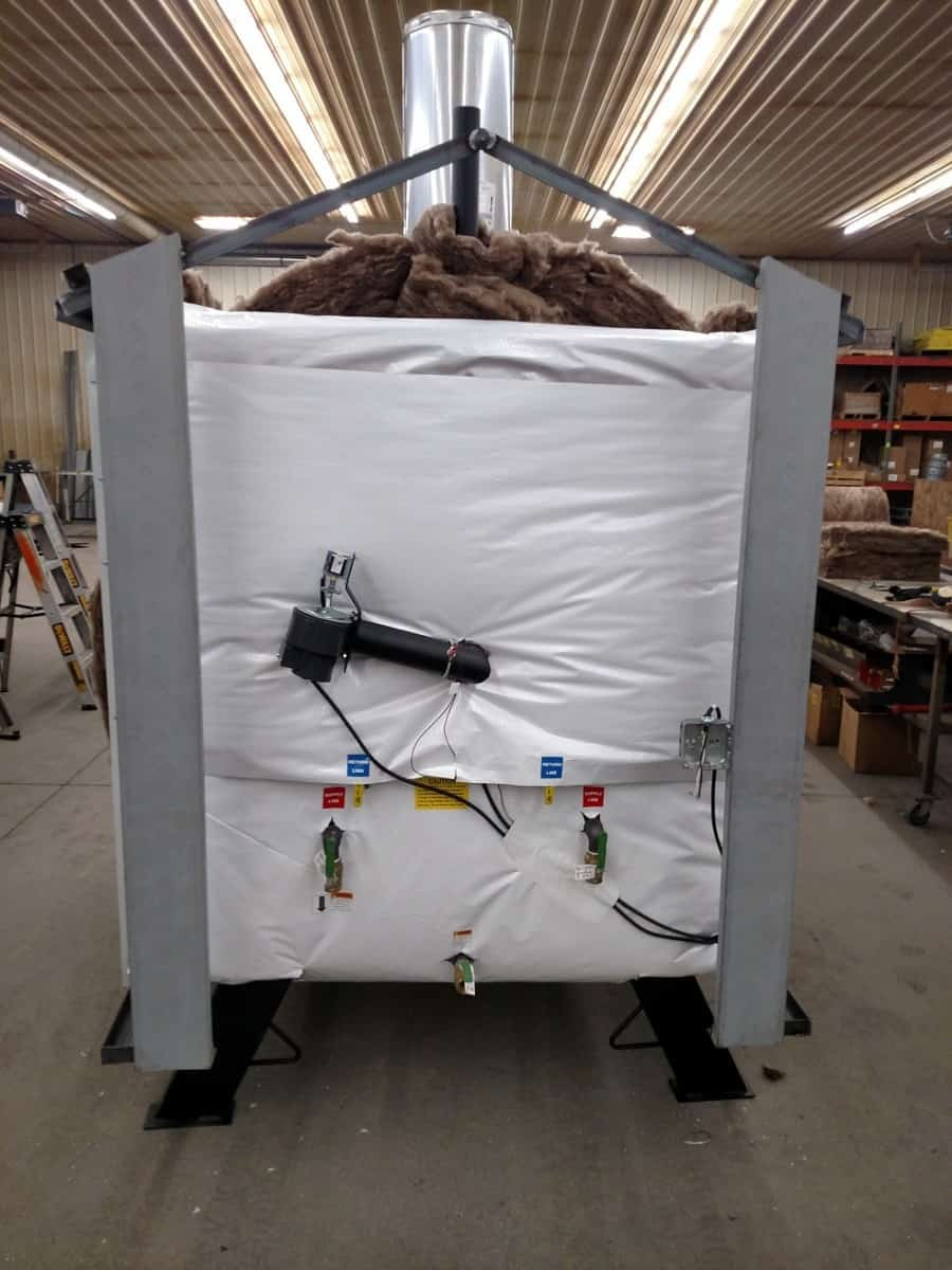 Woodmaster 5500 Outdoor Wood Boiler