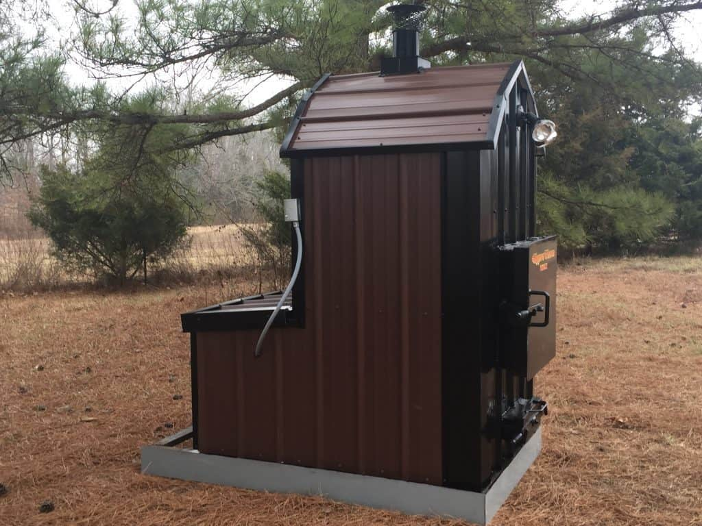 outdoor wood furnace forced air hypro therm thermowind