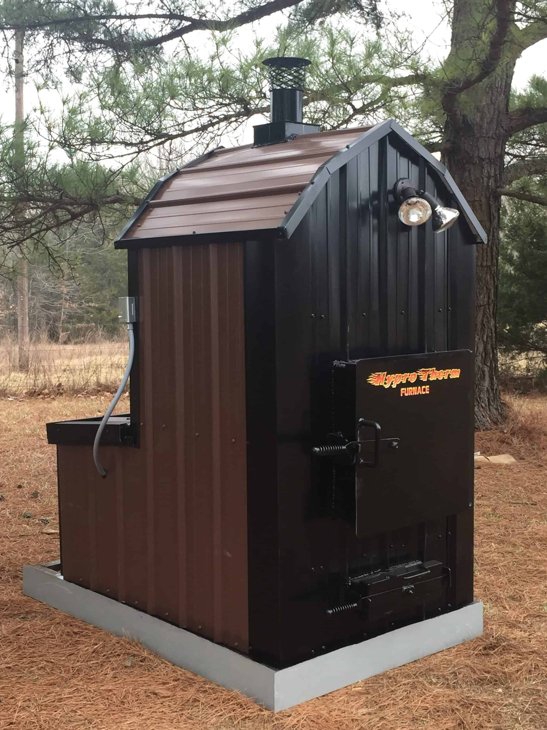 Outdoor Wood Furnace - Forced Air