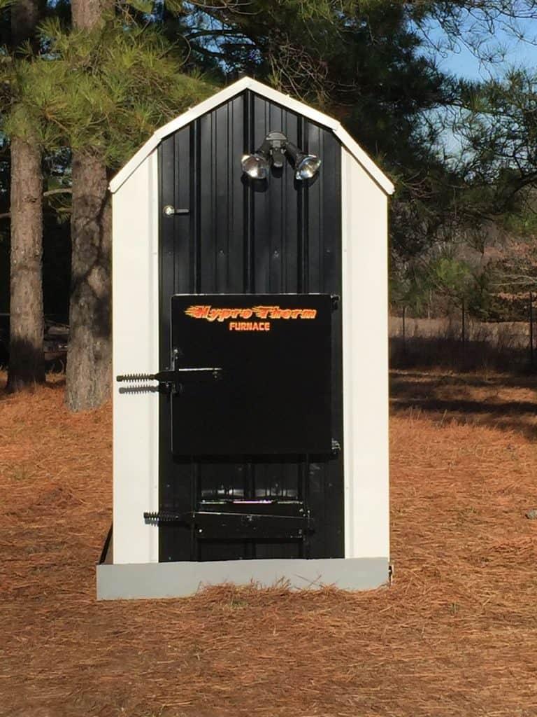 Hyprotherm Flrh 100 Outdoor Coal Boiler
