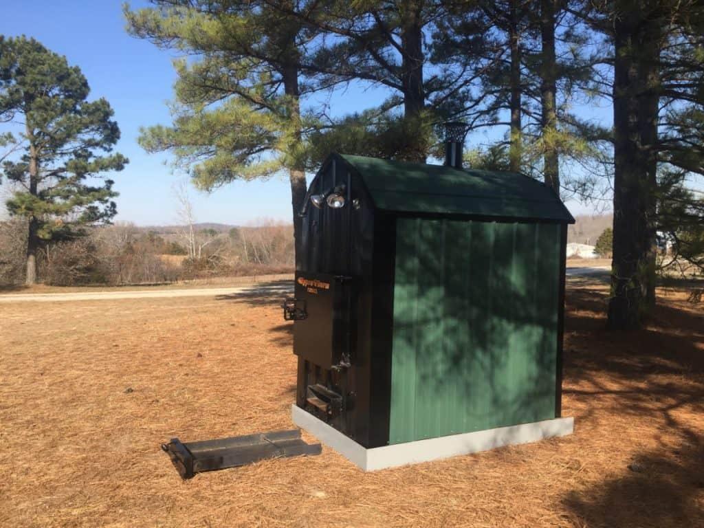 Hyprotherm Flrh 265 Outdoor Wood Boiler
