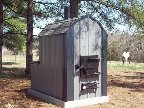 Rated ... - Outdoor Wood Furnace Forced Air - Shaver ThermoWind Wood Heating
