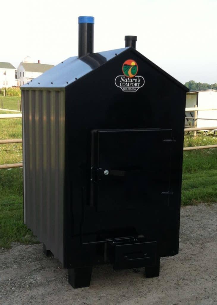hydronic wood furnace