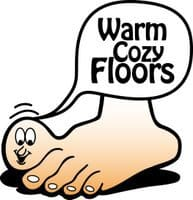 Radiant floor heat with an outdoor wood boiler for Warm toes radiant heat