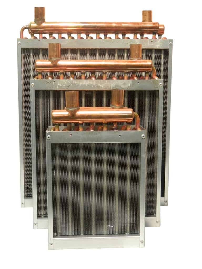 Air Heat Exchanger ~ Outdoor wood furnace heat exchangers