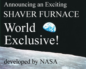 Announcing a Shaver Furnace World Exclusive - developed by NASA - Rust Blocker